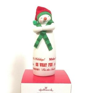 Hallmark Keepsake Merry Wishes Snowman Christmas